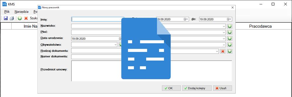 Generator dokumentów